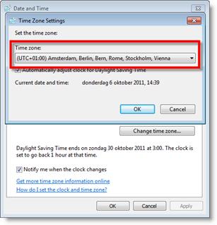 Top tip: Time zone setting Google Synchronizer – InfoBridge