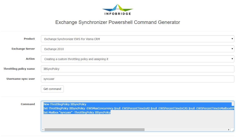 Top tip: Microsoft Exchange Powershell Command Generator